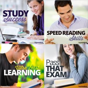 [英文audiobook音频+文本] Power Student Hypnosis Bundle: Maximize Your L...