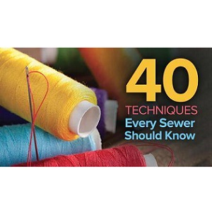 TTC Video视频] 40 Techniques Every Sewer Should Know